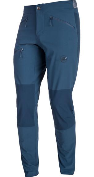 Mammut Pordoi lange broek Heren Long blauw